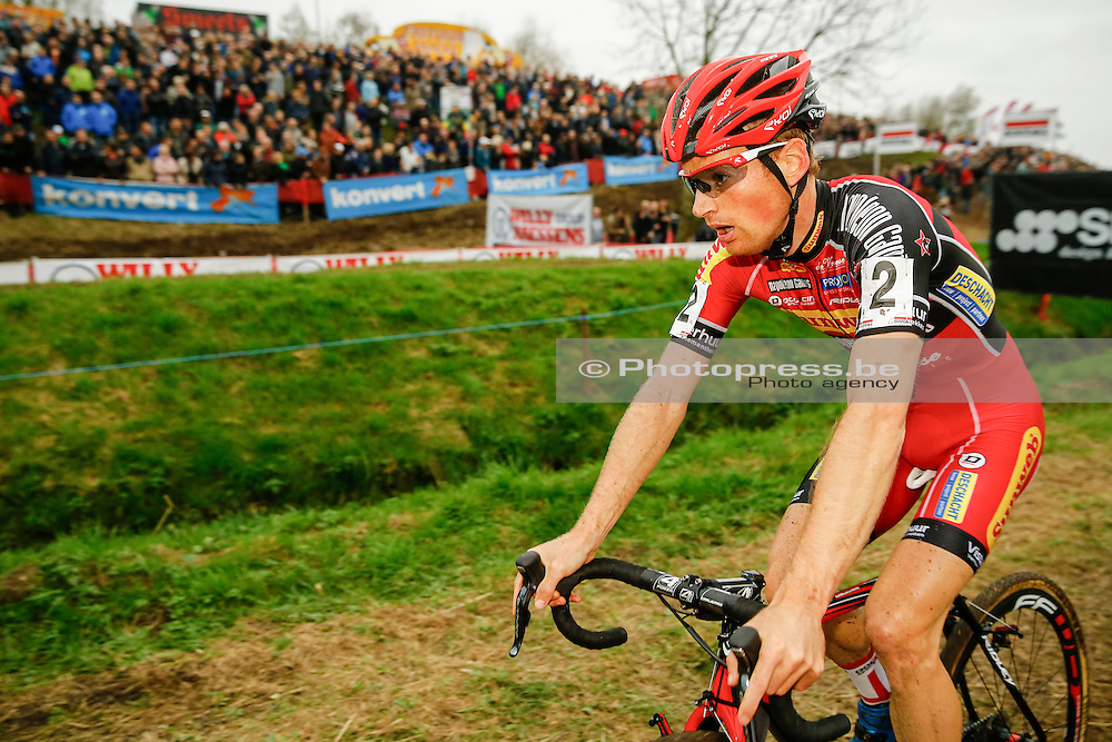 BELGIUM / NIEL / CYCLING / WIELRENNEN / CYCLISME / CYCLOCROSS / CYCLO-CROSS / VELDRIJDEN / JAARMARKTCROSS / SOUDAL CLASSICS / KEVIN PAUWELS – (BEL) – SUNWEB-NAPOLEON GAMES /