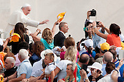 Vatican City sep 02nd 2015, wednesday general audience. In the picture pope Francis - © PIERPAOLO SCAVUZZO