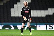 Wycombe Wanderers goalkeeper Cameron Yates (13) during the EFL Trophy match between Milton Keynes Dons and Wycombe Wanderers at stadium:mk, Milton Keynes, England on 12 November 2019.