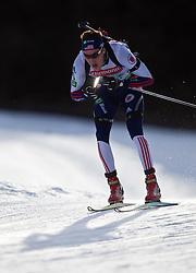 23.01.2011, Südtirol Arena, Antholz, ITA, IBU Biathlon Worldcup, Antholz, Relay Men, im Bild Leif Nordgren (USA) // Leif Nordgren (USA) during IBU Biathlon World Cup in Antholz, Italy, EXPA Pictures © 2011, PhotoCredit: EXPA/ J. Feichter