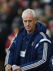 Ipswich Town Manager, Mick McCarthy at St Mary's Stadium - Photo mandatory by-line: Paul Knight/JMP - Mobile: 07966 386802 - 04/01/2015 - SPORT - Football - Southampton - St Mary's Stadium - Southampton v Ipswich Town - FA Cup Third Round