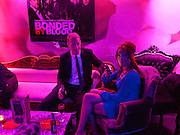 STEVE SARGENT; CHANTAL FARRELL, After-party for the film premiere of BONDED BY BLOOD at Punk Soho. London. 31 August 2010. -DO NOT ARCHIVE-© Copyright Photograph by Dafydd Jones. 248 Clapham Rd. London SW9 0PZ. Tel 0207 820 0771. www.dafjones.com.
