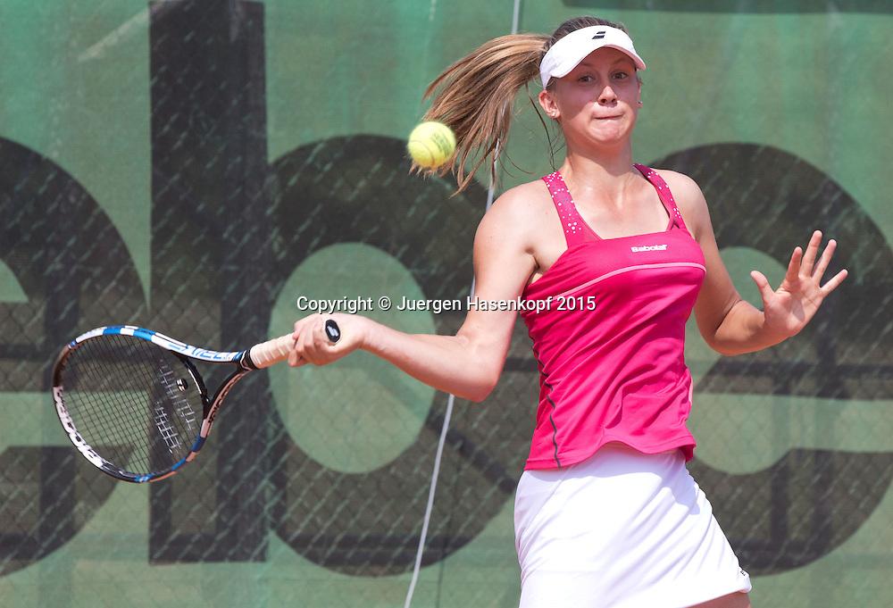 Anna Gabric (GER))<br /> <br /> Tennis - Hechingen Ladies Open - ITF 25.000 -  TC Hechingen - Hechingen -  - Germany - 13 August 2015. <br /> &copy; Juergen Hasenkopf