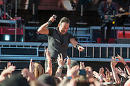 GLASGOW, SCOTLAND - JUNE 01:  Bruce Springsteen performs with the E Street Bandperforms at Hampden Park on June 1, 2016 in Glasgow, Scotland.  (Photo by Ross Gilmore/Getty Images)