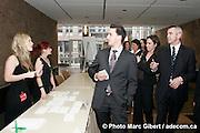 Remise des Prix Média organisé par Infopresse, Le Centre Mont Royal, Québec, Canada, 2008, 04, 29, © Photo Marc Gibert / adecom.ca