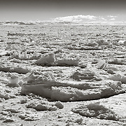 McMurdo Sound ice breakup