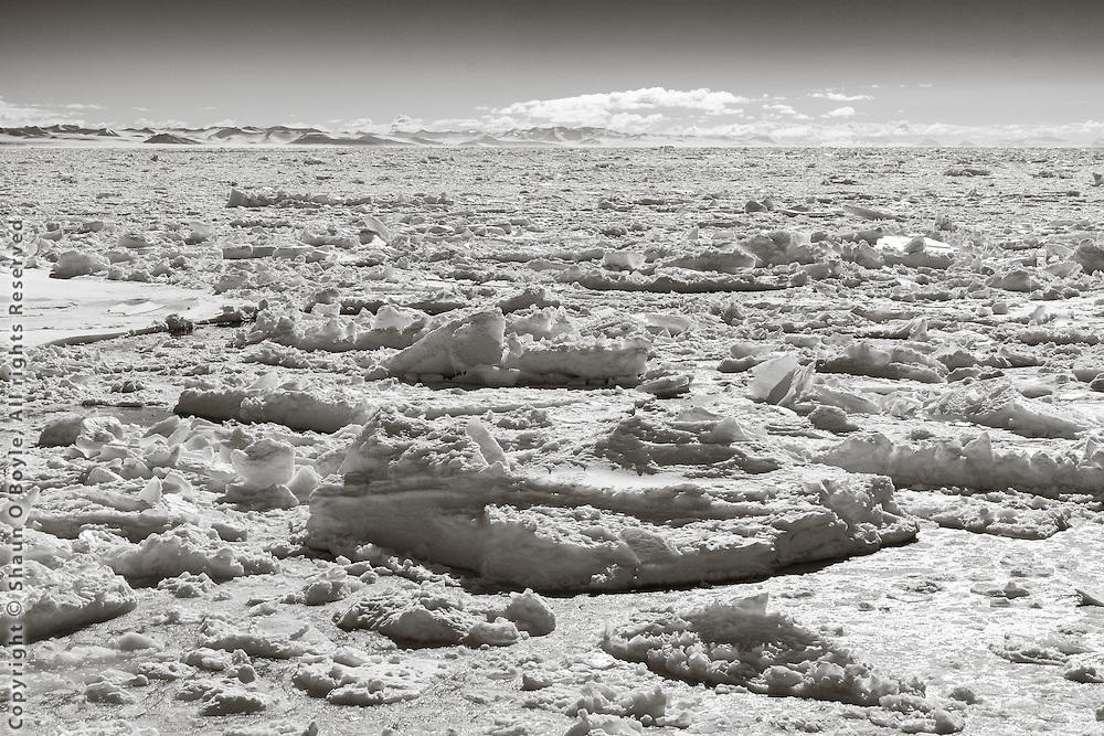 McMurdo Sound ice breakup