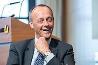 18 JUN 2018, BERLIN/GERMANY:<br /> Friedrich Merz, Vorsitzender des Aufsichtsrates BlackRock Asset Management Deutschland AG, Veranstaltung Wirtschaftsforum der SPD: &quot;Finanzplatz Deutschland 2030 - Vision, Strategie, Massnahmen!&quot;, Haus der Commerzbank<br /> IMAGE: 20180618-01-145