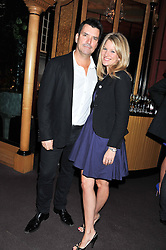 NICK & KATIE COWELL at the 39th birthday party for Nick Candy in association with Ciroc Vodka held at 5 Cavindish Square, London on 21st Januatu 2012.