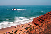 Legzira Beach, Sidi Ifni Province,Southern Morocco, 2016-07-05. <br />