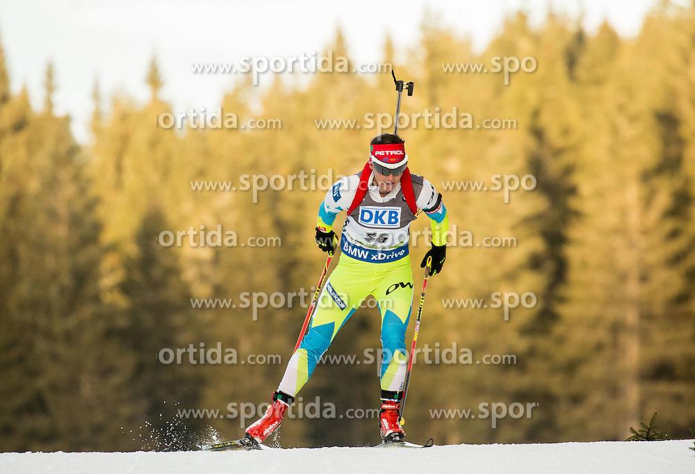Andreja Mali (SLO) competes during Women 7,5 km Sprint at day 2 of IBU Biathlon World Cup 2015/16 Pokljuka, on December 18, 2015 in Rudno polje, Pokljuka, Slovenia. Photo by Vid Ponikvar / Sportida