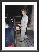 David Bowie Bury st<br /> Mayfair By Jack Ludlam<br /> A2 -  Museum-quality Archival signed Framed Print £950
