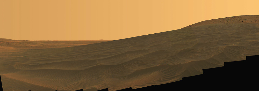 Surface of the planet Mars