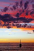 After Storm sunset Cottesloe