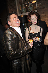 CHARLES WORTHINGTON and OLIVIA GRANT at the BAFTA Nominees party 2011 held at Asprey, 167 New Bond Street, London on 12th February 2011.