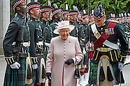 Queen Elizabeth Begins Scottish Holidays, Balmoral
