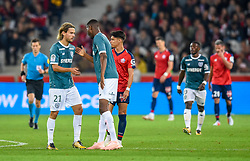 September 22, 2018 - Lille, France - But de COULIBALY Kalifa ( Nantes ) - Joie de KRHIN Rene  (Credit Image: © Panoramic via ZUMA Press)