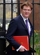 © Licensed to London News Pictures. 26/03/2013. Westminster, UK . Danny Alexander,  Liberal Democrat MP, Chief Secretary to the Treasury. Ministers in Downing Street, London, for Cabinet today, 26th March 2013. Photo credit : Stephen Simpson/LNP