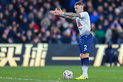 Tottenham Hotspur defender Kieran Trippier (2) directs his players in the wall during The FA Cup fourth round match between Crystal Palace and Tottenham Hotspur at Selhurst Park, London, England on 27 January 2019.