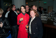 GILLIAN WEARING; RACHEL WHITEREAD, Counter Editions 10th anniversary party. Rivington Grill. Shoreditch. London. 5 May 2010 *** Local Caption *** -DO NOT ARCHIVE-© Copyright Photograph by Dafydd Jones. 248 Clapham Rd. London SW9 0PZ. Tel 0207 820 0771. www.dafjones.com.<br /> GILLIAN WEARING; RACHEL WHITEREAD, Counter Editions 10th anniversary party. Rivington Grill. Shoreditch. London. 5 May 2010