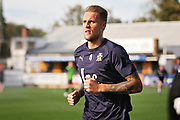 Cambridge United's George Taft(4) before the EFL Sky Bet League 2 match between Cambridge United and Milton Keynes Dons at the Cambs Glass Stadium, Cambridge, England on 13 October 2018.