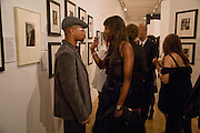 CUBA GOODING JNR AND NAOMI CAMPBELL, Vanity Fair Portraits: Photographs 1913-2008. Hosted by Burberry and Vanity Fair. National Portrait Gallery. London. 9 February 2008.  *** Local Caption *** -DO NOT ARCHIVE-© Copyright Photograph by Dafydd Jones. 248 Clapham Rd. London SW9 0PZ. Tel 0207 820 0771. www.dafjones.com.