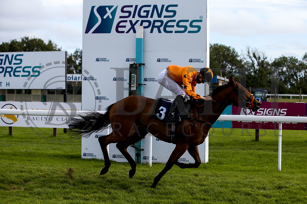 Bold Decision ridden by Hector Crouch and trained by Tony Carroll wins the Visitbath.co.uk Classified Stakes - Mandatory by-line: Robbie Stephenson/JMP - 18/07/2020 - HORSE RACING- Bath Racecourse - Bath, England - Bath Races 18/07/20