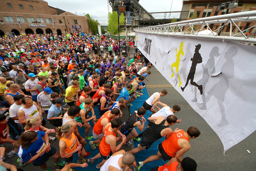31st Annual Nordstrom Beat the Bridge, benefitting JDRF - Starting Line.