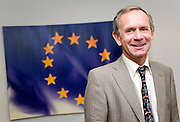 Hugh Richardson, Ambassador for the Delegation of the European Commission to Japan, poses for a photo in his offices in Tokyo on 17 May, 2010.Photographer: Robert Gilhooly