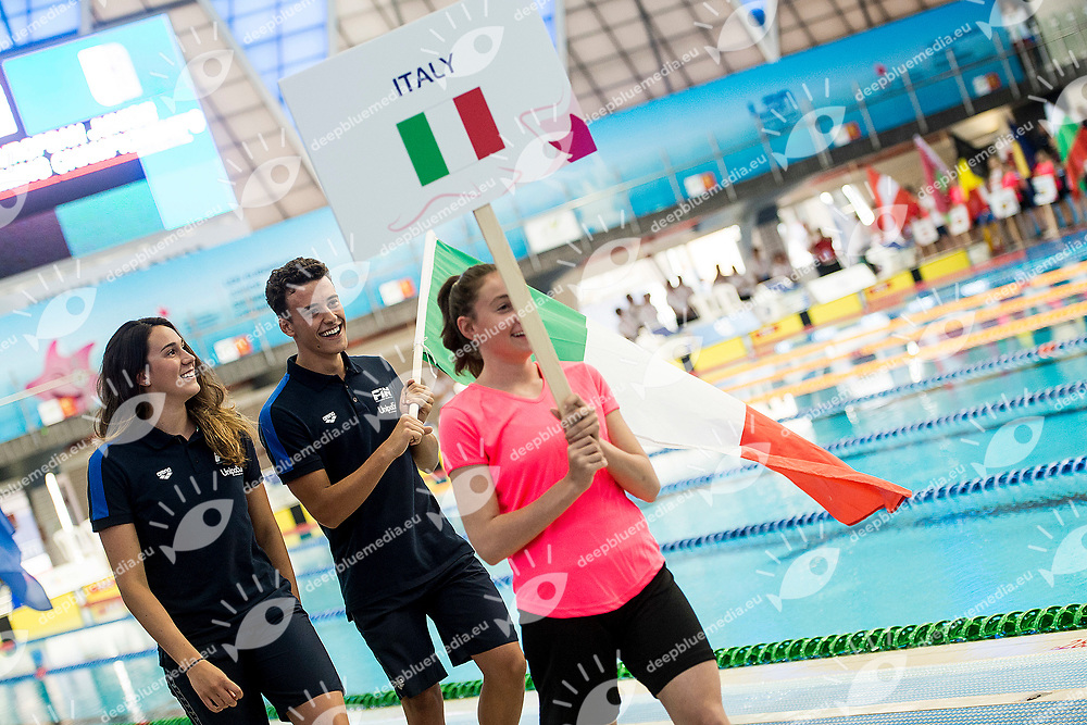 Opening Ceremony LEN<br /> LEN 44th European Junior Swimming Championships<br /> Netanya, Israel <br /> Day01 28-06-2017<br /> Photo Andrea Masini/Deepbluemedia/Insidefoto