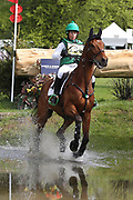 Sarah Ennis (IRL) riding Woodcourt Garrison during the International Horse Trials at Chatsworth, Bakewell, United Kingdom on 13 May 2018. Picture by George Franks.