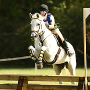 Devlin Murphy and Goodtime Goggles at the 2007 Wellpride American Eventing Championships in Wayne, IL, USA.