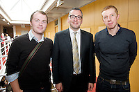 At the 4th Galway Annual IBD Study Day, Clinical Science Institute, University Hospital Galway were Dr. John Ryan, Mater,Dr. Glen Doherty, Vincent's and Dr. Conor Lahiff, Mater sponsored by Shire Pharmaceuticals . Photo:Andrew Downes