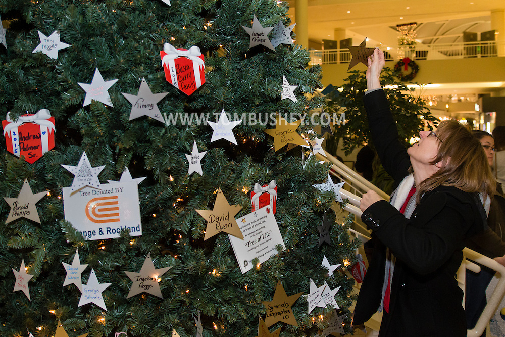 Town of Wallkill, New York - The Hospice of Orange & Sullivan Counties tree lighting ceremony was held at the Galleria at Crystal Run on Dec. 4, 2015. The event included a performance by the SUNY Orange Choir and the Madrigal Singers.