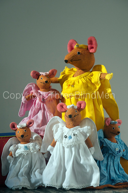 Angel Mice. Designed & made by Barefoot Pvt Ltd.
