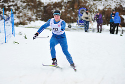 MAYSTRENKO Vladyslav, UKR at the 2014 IPC Nordic Skiing World Cup Finals - Long Distance
