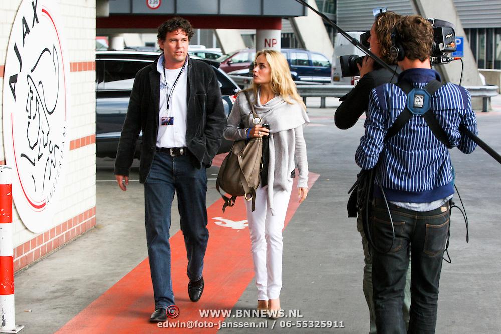 NLD/Amsterdam/20080526 - Samen met Dré in Concert, manager Frank Boers en Sophie Steger, nieuwe partner Xander de Buisonje