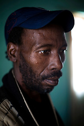 Khumbizile Nkisimane worked in a gold mine for 19 years before leaving when a medical exam showed he had TB.  South African Gold miners are particularly vulnerable to contracting TB because of the small, poorly ventilated work conditions, high rates of TB and high rates of silicosis, a lung disease often found in miners that increases the chance of catching TB.