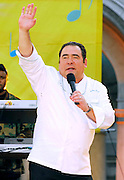 "Chef Emeril Lagasse at the 2007 ""Good Morning America"" Summer Concert Series in Bryant Park on Friday, June 8, 2007 in New York."