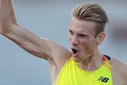 31-07-2015 NED: Asics NK Atletiek, Amsterdam<br /> Nk outdoor atletiek in het Olympische stadion Amsterdam /   winnaar Jurjen Polderman #170 op de 1500 meter