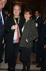STEPHEN & FLO BAYLEY at a party hosted by Tanner Krolle held at Leighton House, 12 Holland Park Road, London W14 on 8th December 2005.<br /><br />NON EXCLUSIVE - WORLD RIGHTS
