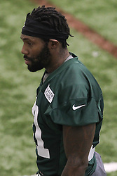 June 12, 2012; Florham Park, NJ, USA; New York Jets cornerback Antonio Cromartie (31) during New York Jets Minicamp at the Atlantic Health Training Center.
