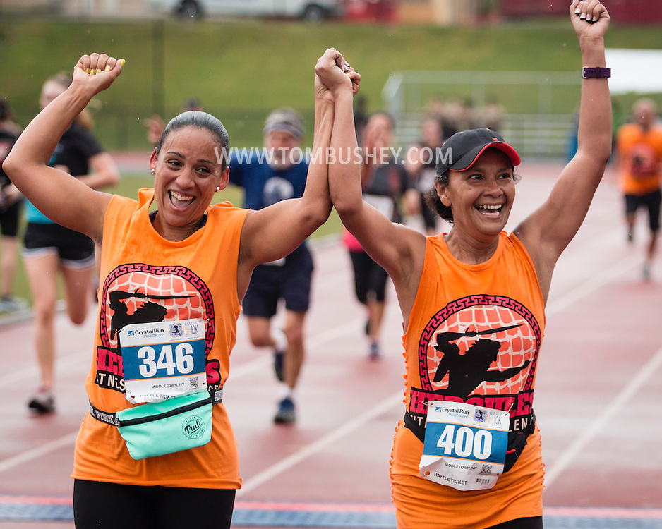 Middletown, New York -The Classic 10K and Rowley 5K road races were held at the Faller Field Complex at Middletown High School on June 5, 2016.