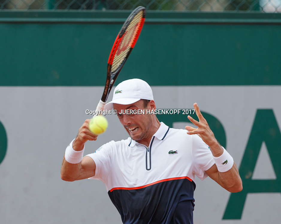 ROBERTO BAUTISTA AGUT (ESP)<br /> <br /> Tennis - French Open 2017 - Grand Slam ATP / WTA -  Roland Garros - Paris -  - France  - 29 May 2017.