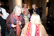 LYNN BARBER; GRAYSON PERRY; GILLIAN AYRES, Turner Prize 2010. Tate Britain. Millbank. London. 6 December 2010. -DO NOT ARCHIVE-© Copyright Photograph by Dafydd Jones. 248 Clapham Rd. London SW9 0PZ. Tel 0207 820 0771. www.dafjones.com.