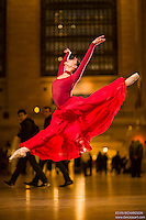 Dance As Art The New York City Photography Project Grand Central Series with ballerina Xiaoxiao Cao