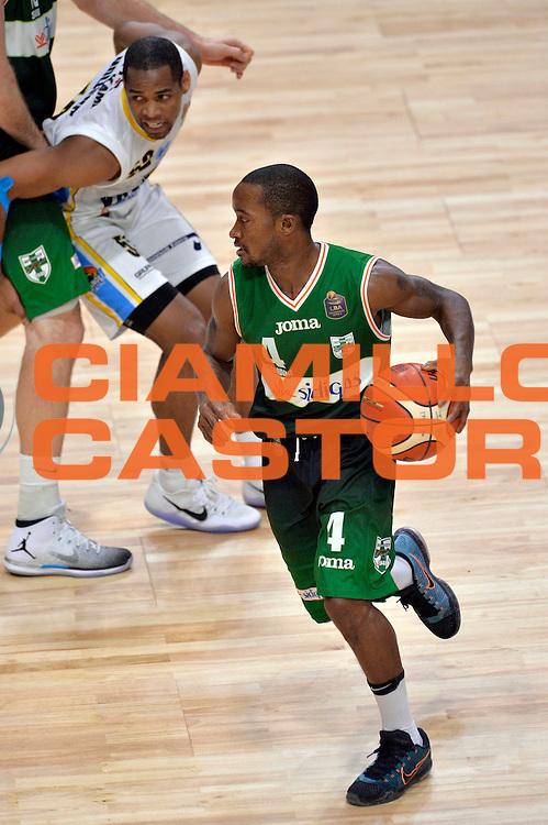 Marques Green<br /> Vanoli Cremona - Sidigas Avellino<br /> Lega Basket Serie A 2016/2017<br /> Cremona, 18/12/2016<br /> Foto Ciamillo-Castoria