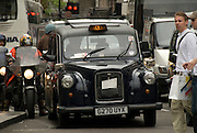 Typical london cabs