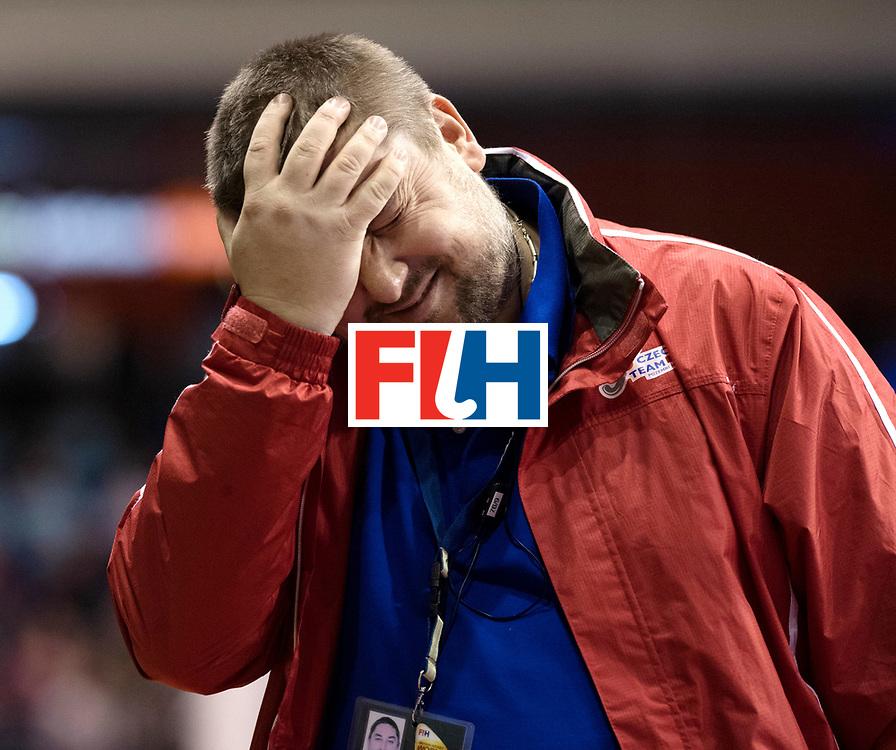 BERLIN - Indoor Hockey World Cup<br /> Women: Czech Republic - Germany <br /> foto: RONIČEK Petr.<br /> WORLDSPORTPICS COPYRIGHT FRANK UIJLENBROEK