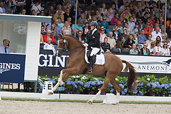 Vasaryova Hana, CZE, Silky Moves<br /> World Championship Young Dressage Horses <br /> Ermelo 2016<br /> © Hippo Foto - Leanjo De Koster<br /> 29/07/16